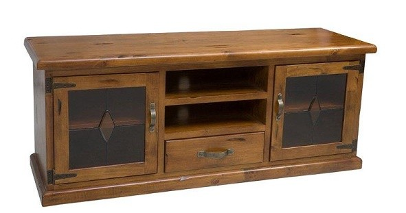 Rent or hire RusticTV unit in solid timber