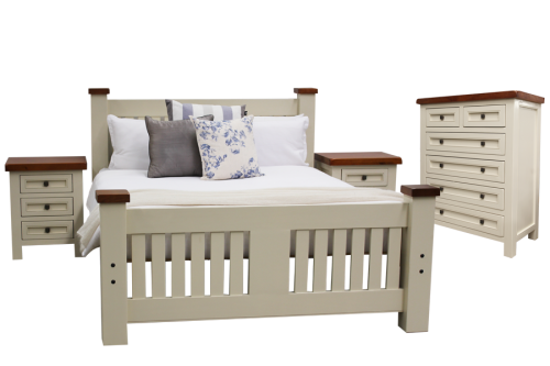 Rent or hire Solid timber Provincial bedroom suite