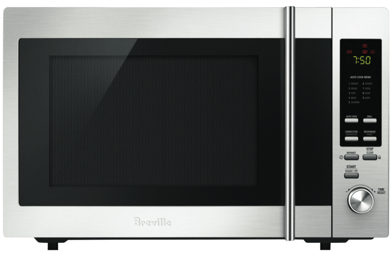 Microwave oven - convection stainless steel