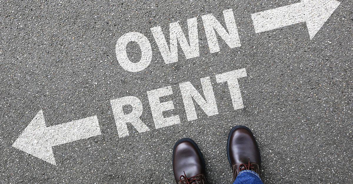 Rentacentre rent own